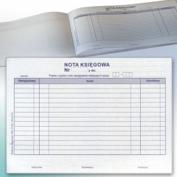 Nota Księgowa, samokopia