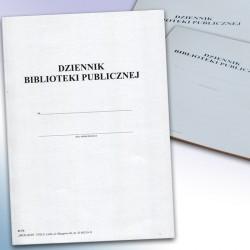 Dziennik biblioteki Publicznej nowy wzór
