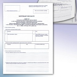Kontrakt socjalny B część I i II