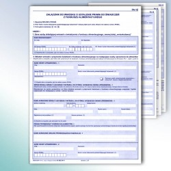 FA-1Z, Załącznik do wniosku o ustalenie prawa do świadczeń z funduszu alimentacyjnego