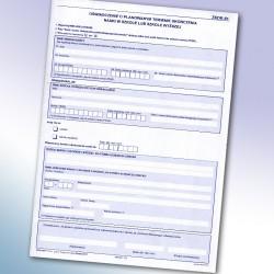 ZKDR-01 Oświadczenie o planowanym terminie ukończenia  nauki w szkole lub szkole wyższej.
