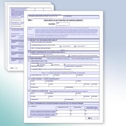 DN-1 Deklaracja na podatek od nieruchomosci.