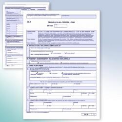 DL-1 Deklaracja na podatek leśny